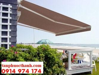 Lựa chọn mái hiên cho nhà hàng ven biển